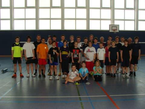 Badminton Gruppe VfR Weddel