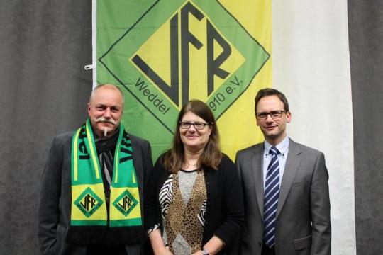VfR Weddel - Jahreshauptversammlung - Ehrungen - Kassel, Götte-Kroschewski, Pape
