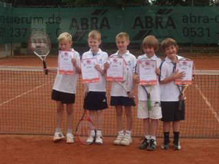 Tennis - VfR Weddel - 2012 - Tennisjugend