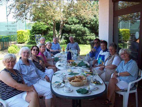 Tennis - VfR Weddel - 2013 - Seniorenfrühstück