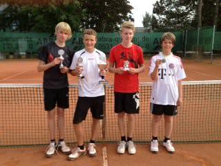 Tennis - VfR Weddel - 2013 - Vereinsmeisterschaften Jugend1