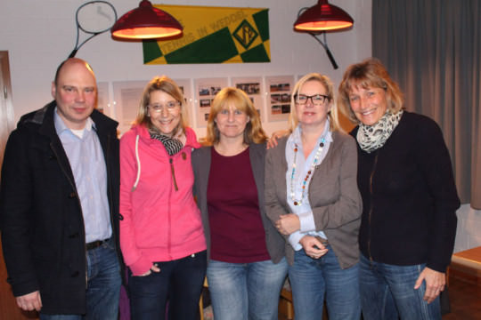 Tennis - VfR Weddel - 2015 - Vorstand