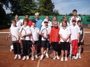 Tennis - VfR Weddel - 2009 - Tennisferiencamp1