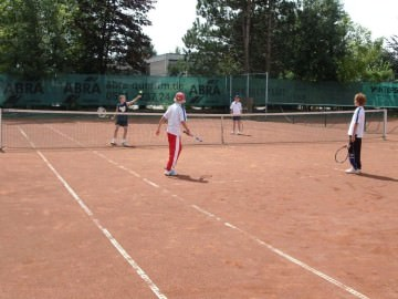 Tennis - VfR Weddel - 2009 - Tennisferiencamp11