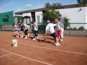 Tennis - VfR Weddel - 2009 - Tennisferiencamp5