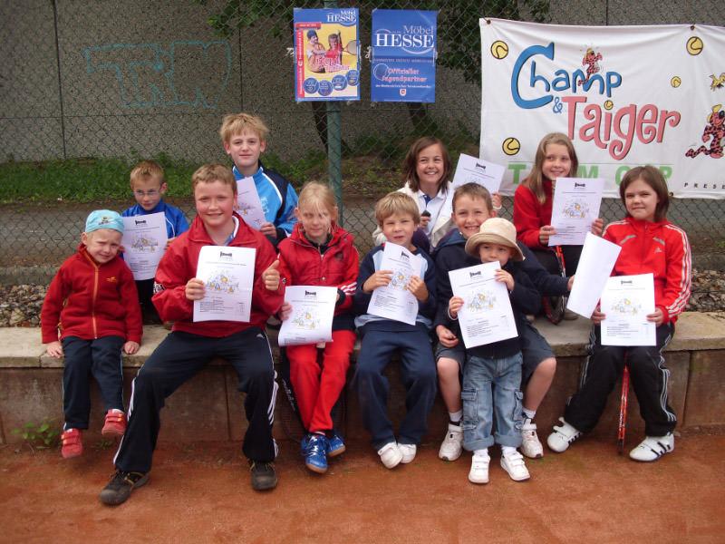 Tennis - VfR Weddel - 2010 - Jugendtag4
