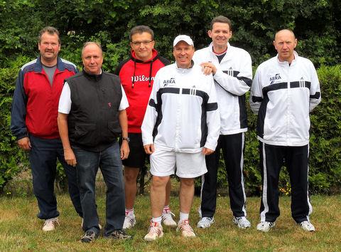 Tennis - VfR Weddel - 2011 - Aufstieg Herren 40