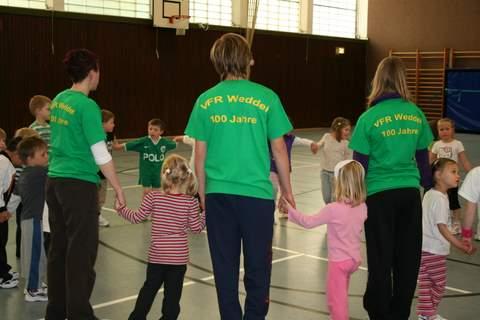 VfR Weddel - 100 Jahre - Jubiläum - Kinderturnen_1