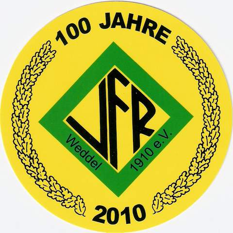 VfR Weddel - 100 Jahre - Jubiläum - Logo