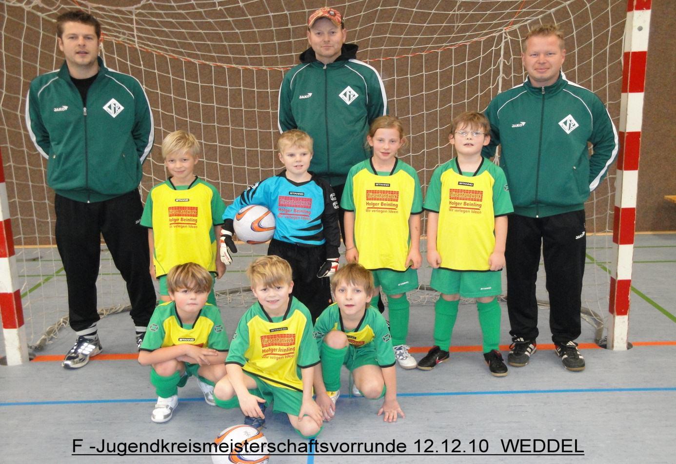 VfR Weddel - Fußball - - 2011 - F-Jugend_1