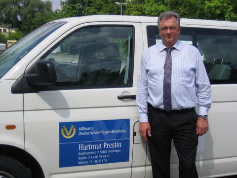 VfR Weddel - Bus-Werbung 2015 Hartmut Prestin