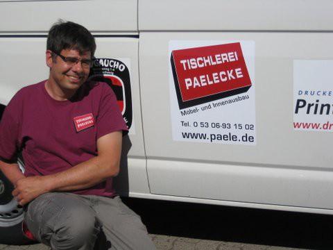 VfR Weddel - Bus-Werbung 2015 Paelecke