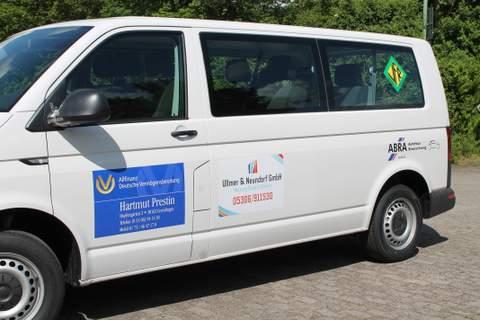 VfR Weddel - neuer Vereinsbus 1
