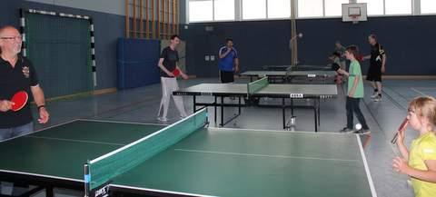 VfR Weddel - Sport- und Spaßmeile - Tischtennis